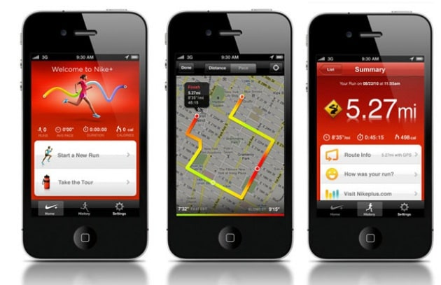 iPhone Apps: Nike+ GPS e microscopio Focus.it