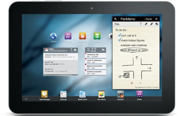 Samsung Galaxy Tab 8.9 - 479 €
