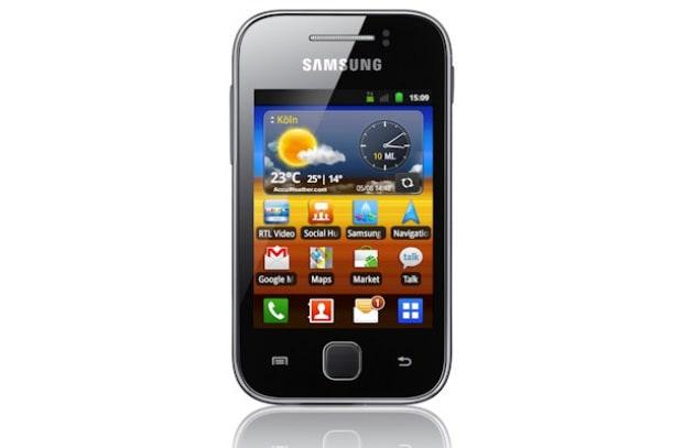 Samsung Galaxy Y - 149 €