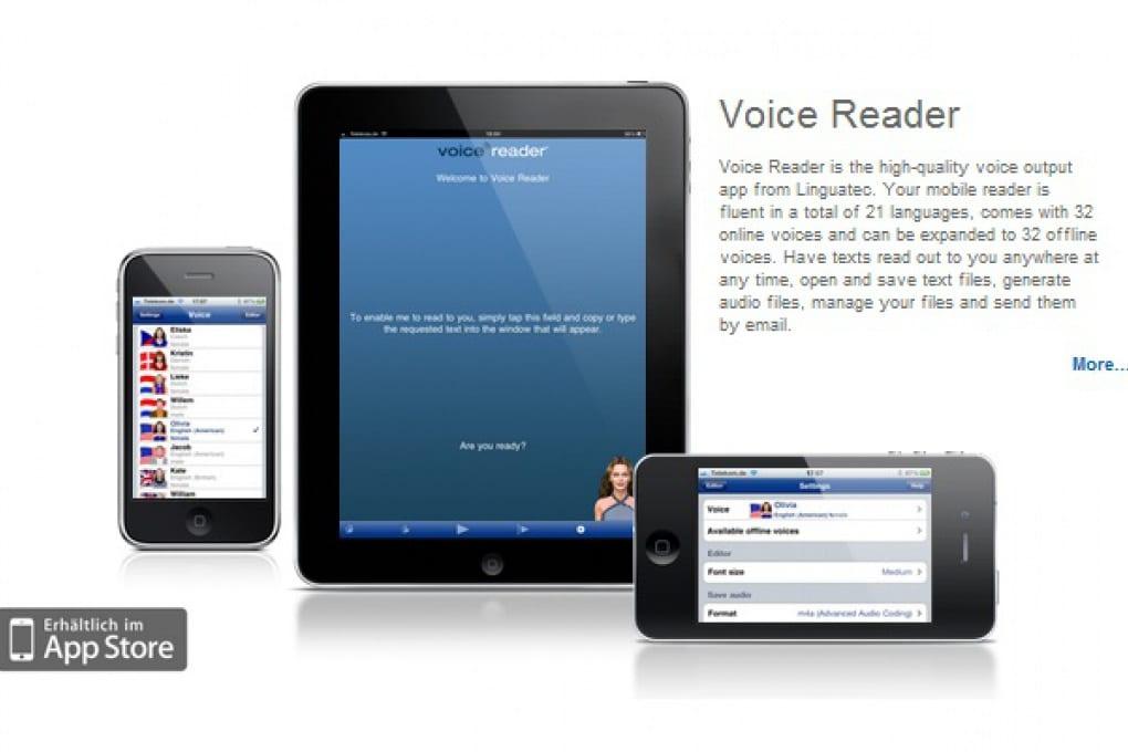 Smetti di leggere, l'iPhone lo fa per te!