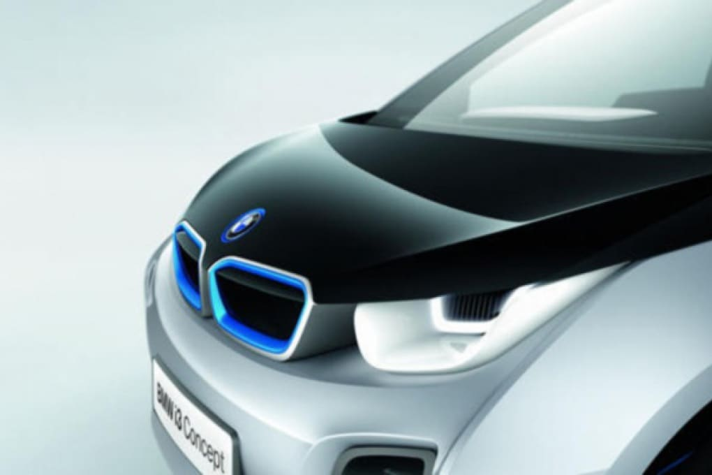 La concept car BMW elettrica avvistata a Chicago