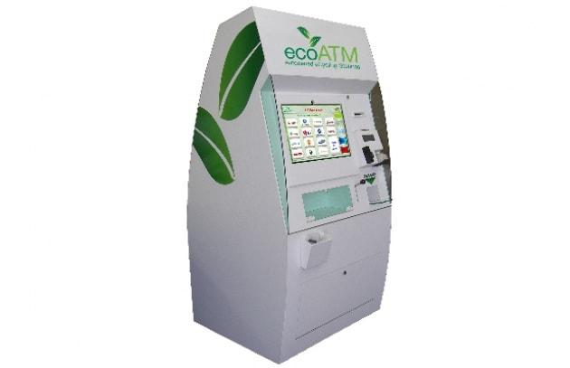 Il Bancomat che ricicla i dispositivi tecnologici