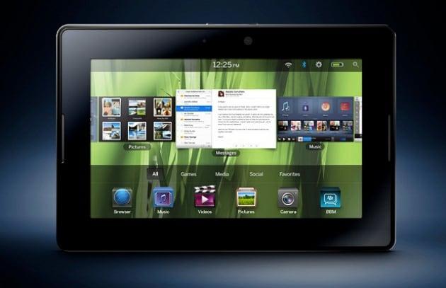 PlayBook di RIM userà le stesse app per smartphone