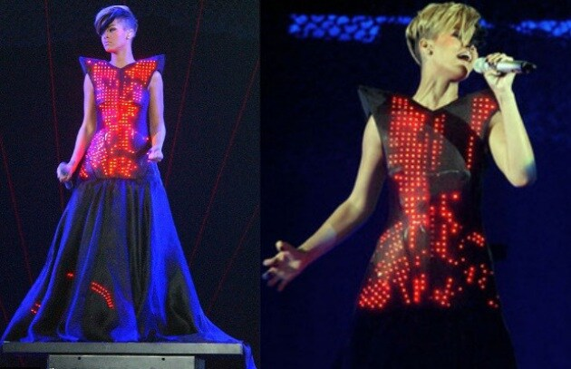 Rihanna in Tour: m'illumino di Led