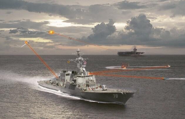 Il laser antimissile degli USA è da record