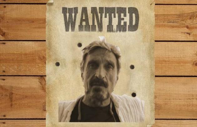 John McAfee nei guai: ricercato per omicidio