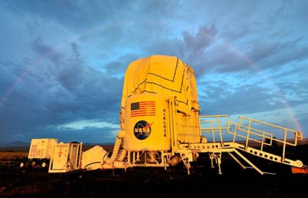 La casa gonfiabile per astronauti della Nasa