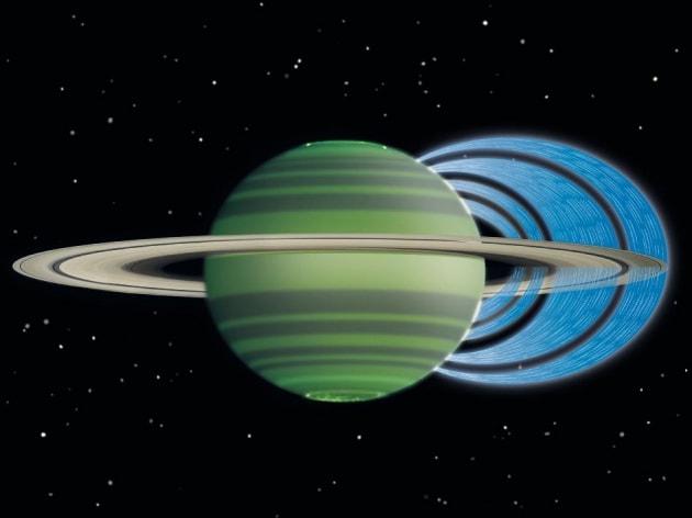 Piove anche su Saturno: tutta colpa degli anelli