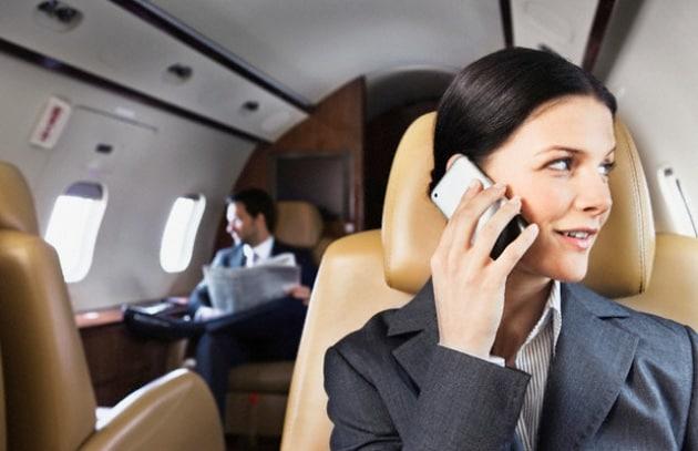 Android porta il telecomando in aereo