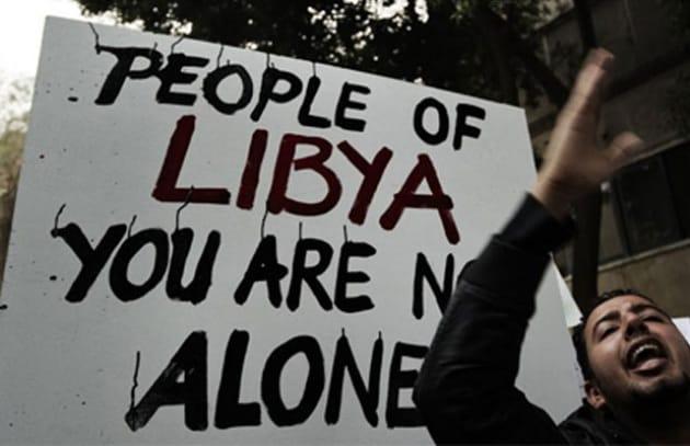 Anonymous si schiera con la Libia