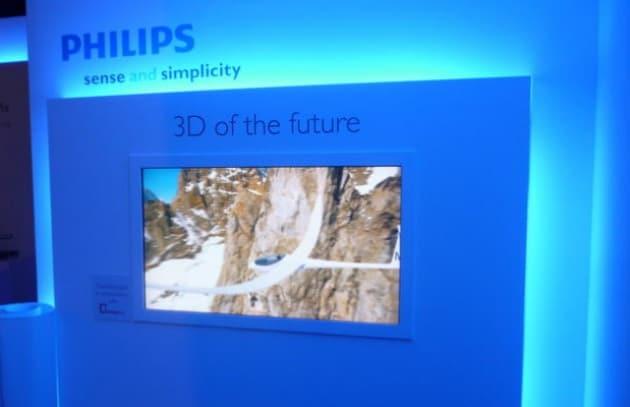 Anche per Philips il futuro del 3D è senza occhiali