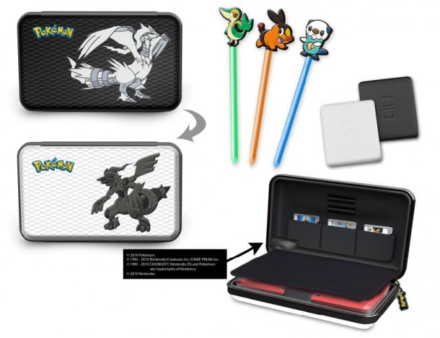 Pokémon Black & White si arricchisce di nuovi accessori