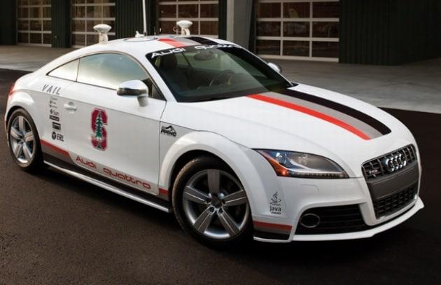 L'Audi robot ce l'ha fatta: impresa compiuta