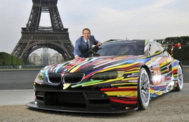 La BMW arlecchino in gara a Les Mans