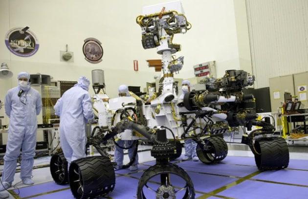 Rover Curiosity della Nasa in viaggio verso Marte