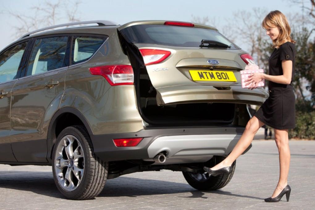 Il portellone della Ford Kuga si apre senza mani