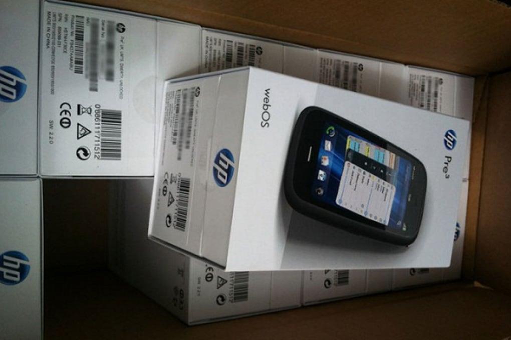 HP lancia sul mercato europeo il Palm Pre 3
