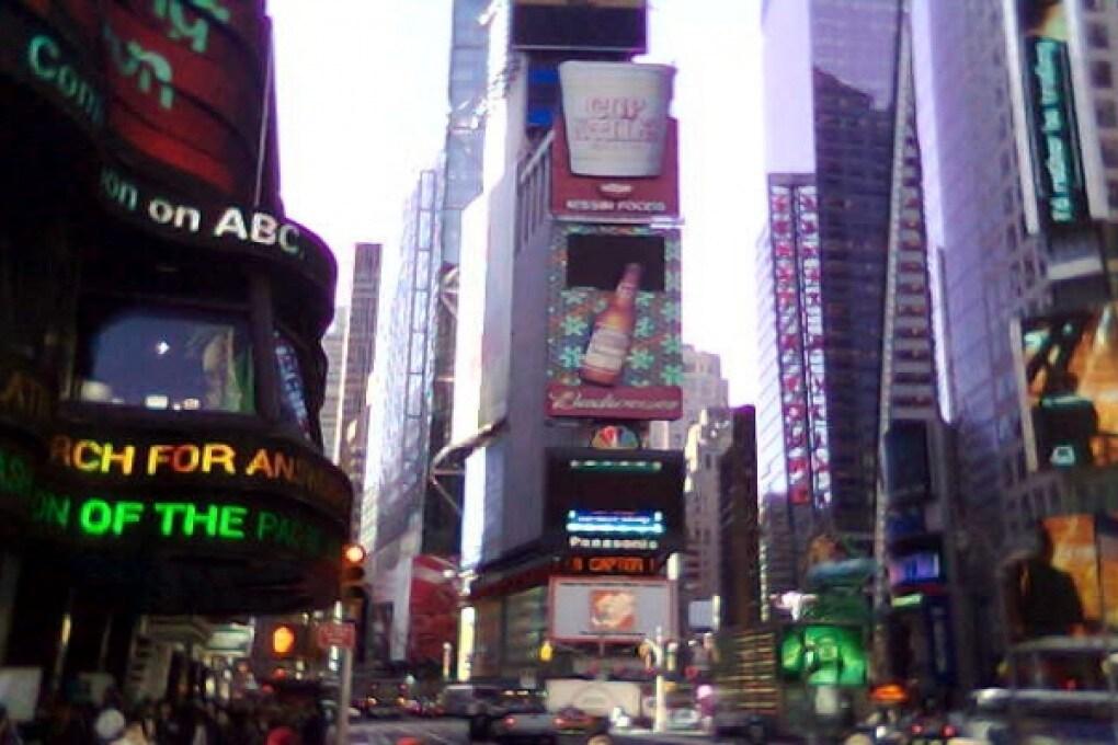 New York impone tassa per le riprese dei film