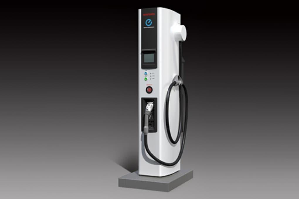 """Nissan fa il pieno """"elettrico"""" in 10 minuti"""
