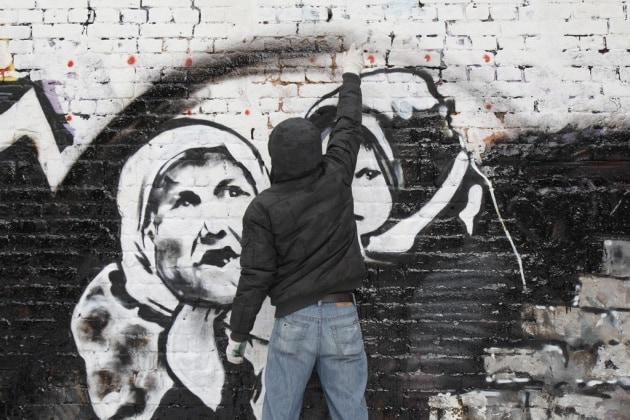 Addio a P183, il Banksy russo