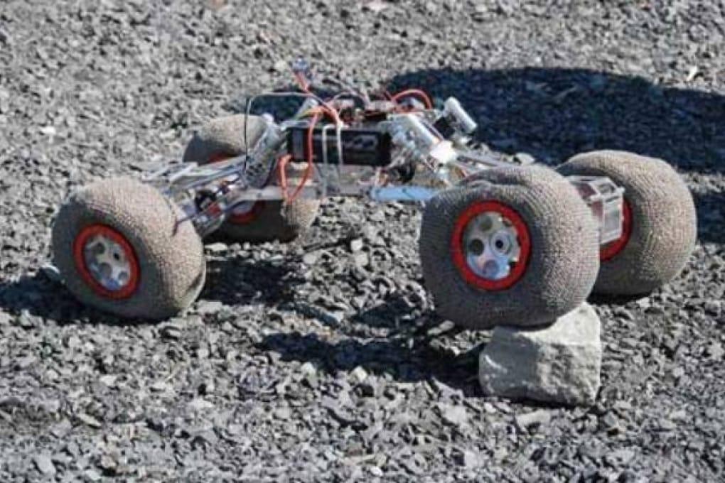Gli scienziati reinventano la ruota per l'esplorazione lunare