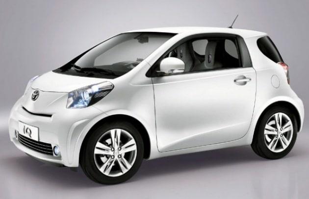 La Toyota IQ diventa elettrica