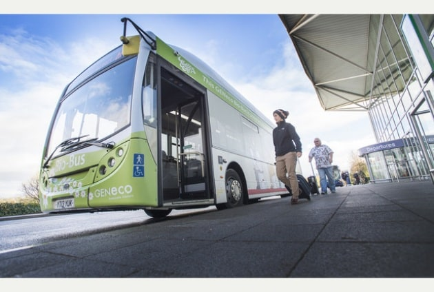 L'autobus a biometano di fogna