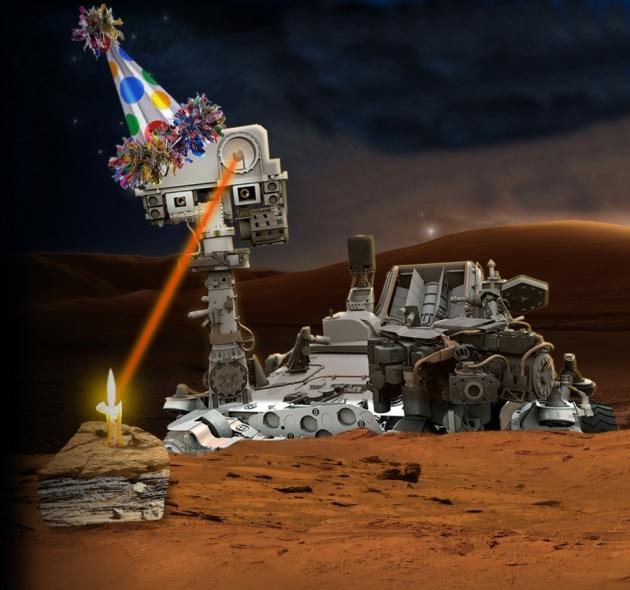 Un anno di lavoro su Marte in 2 minuti