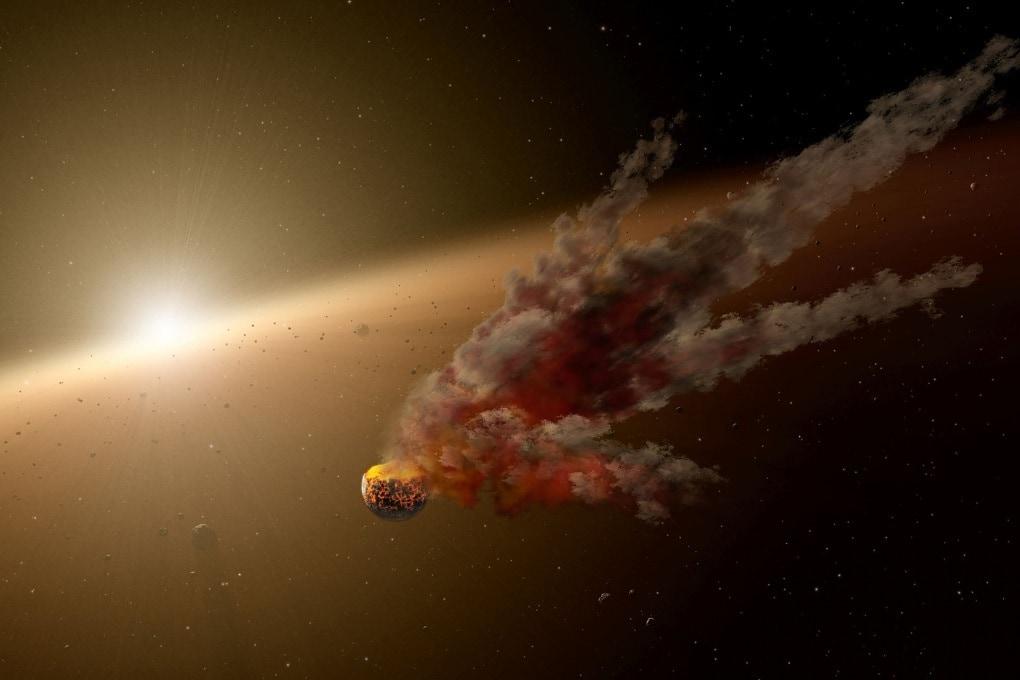 La nascita di un pianeta in diretta