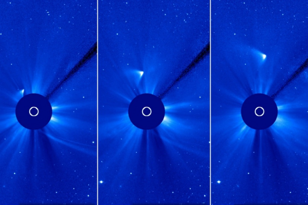 Cometa ISON forse sopravvissuta al perielio: lo dice la NASA