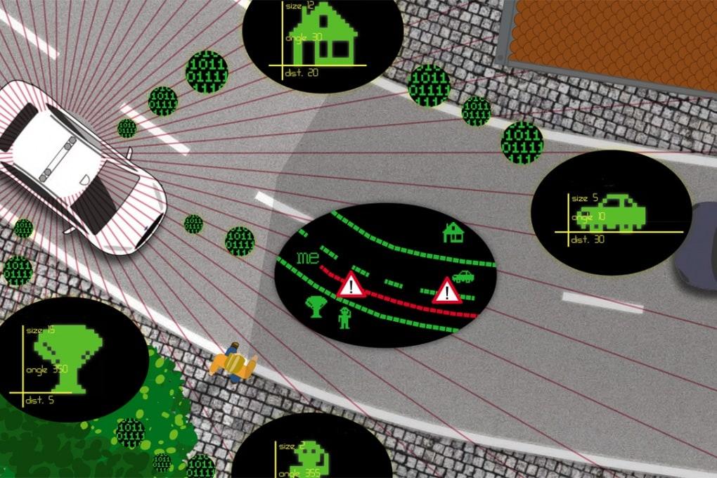 Ford come Google: ecco la sua auto che guida da sola