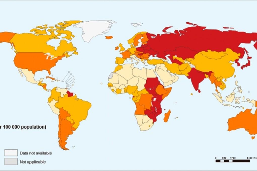 Suicidio: dove, come e perché ci si toglie la vita