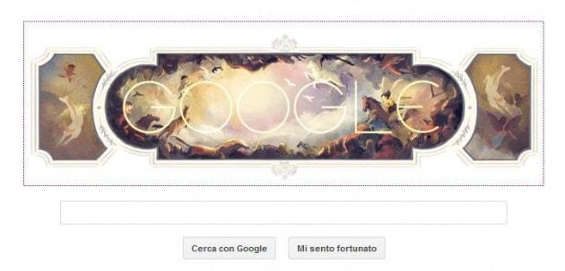 Gianbattista Tiepolo e il Doodle affresco