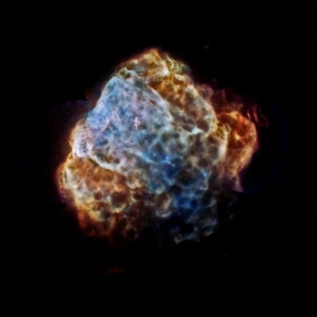 Ciò che resta della supernova