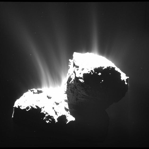 Rosetta, rallenta la cometa 67