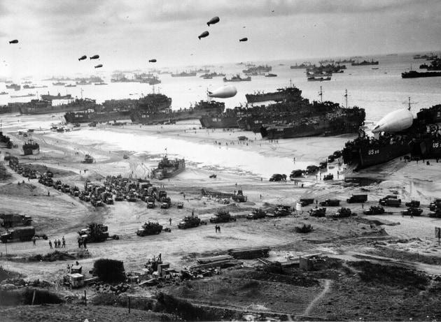 Il D-day ieri e oggi