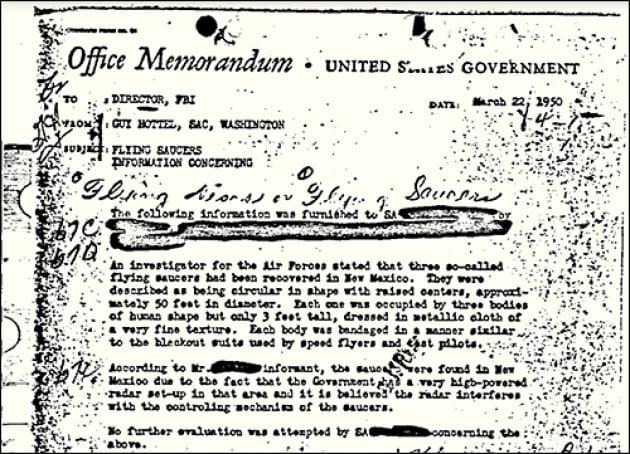 Qual è il documento Fbi più letto della storia?