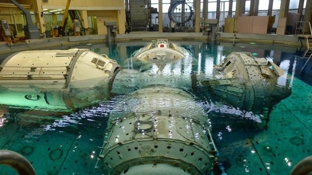 Hydrolab: la piscina spaziale