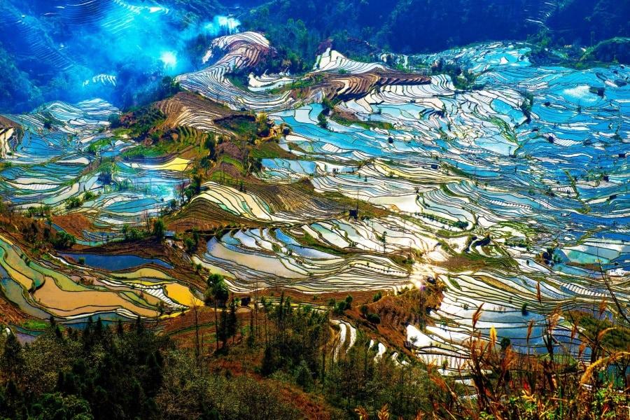 I 22 luoghi pi colorati del mondo for Foto meravigliose del mondo