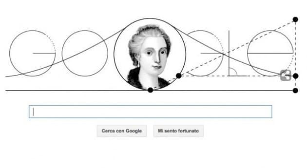 Maria Gaetana Agnesi, la signora della matematica celebrata in un Doodle
