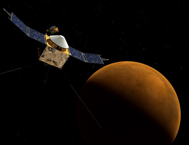 Misteri meteo su Marte: sbuffi alti 250 km