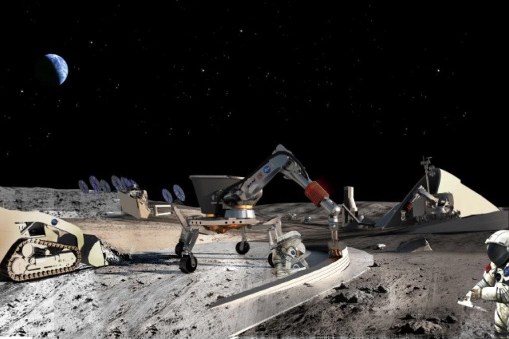 Architetti robot su Marte per costruire le prime colonie