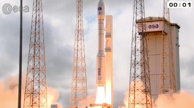 IXV, lancio completato con successo