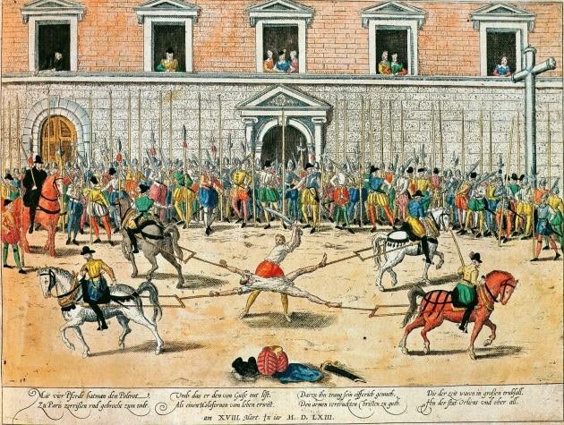 La storia della tortura
