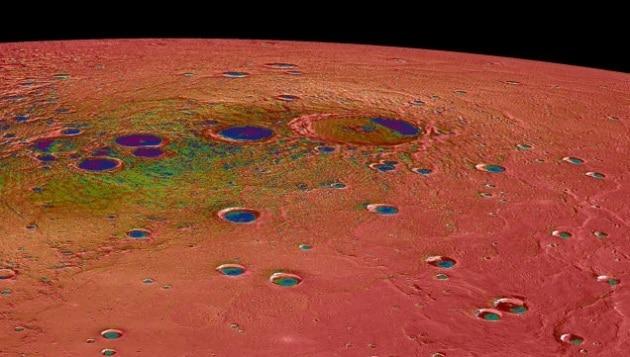 Mercurio, le foto più belle della sonda MESSENGER