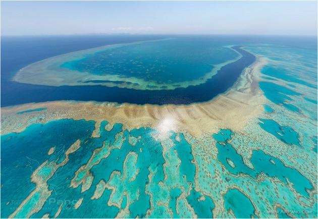 La Grande Barriera Corallina è diventata più grande