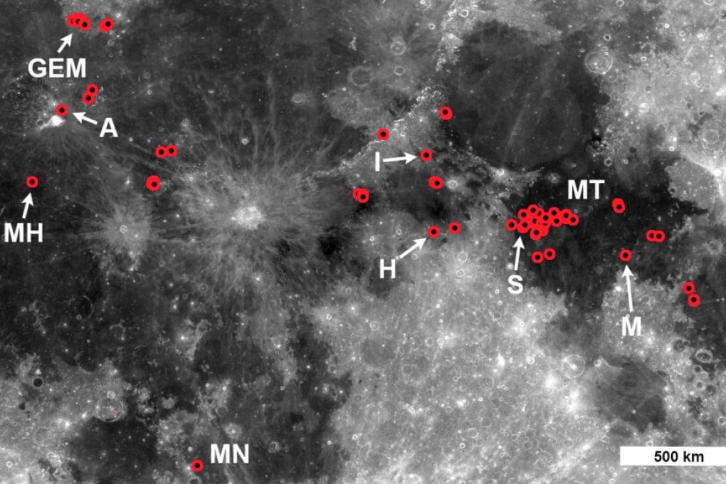 Vulcani sulla Luna: eruzioni al tempo dei dinosauri