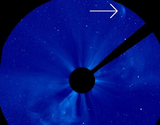 Cometa ISON, non ce l'ha fatta: il Sole l'ha disintegrata