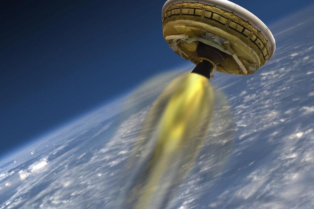 Il super paracadute della Nasa per atterraggi marziani