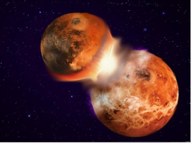 Due ipotesi discordanti tentano di spiegare perché Terra e Luna sono simili